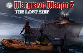 PC game cover Margrave Manor 2: The Lost Ship