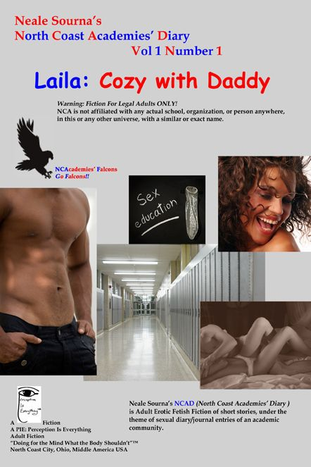 ebook cover NCAD 1.1 Laila: Cozy with Daddy