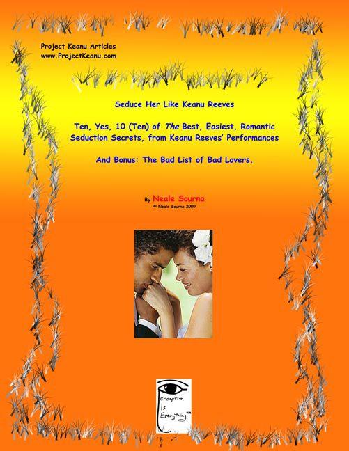 ebook cover Seduce Her Like Keanu Reeves (3 Articles)