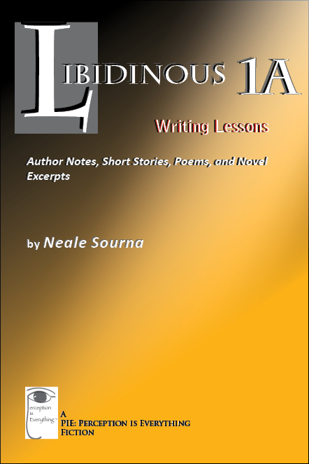 Book cover - Libidinous 1A - Writing Lessons: Author Notes, Short Stories, Poems, and Novel Excerpts
