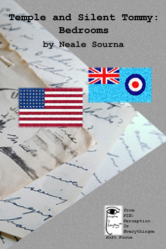 Temple and Silent Tommy: Bedrooms (short story ebook cover) by Neale Sourna (WWII short story romance)
